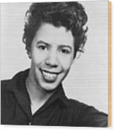 Lorraine Hansberry 1930-1965 African Wood Print by Everett