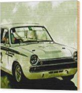 Lotus Cortina Wood Print