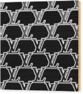 Louis Vuitton Black Wood Print