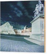 Louvre Museum 6b Art Wood Print