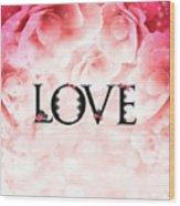 Love Heart Nd12 Wood Print