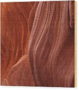 Lower Antelope Canyon 2 7947 Wood Print