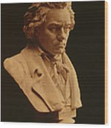 Ludwig Van Beethoven, German Composer Wood Print