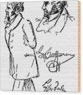 Ludwig Van Beethoven Wood Print by Granger