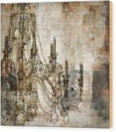 Lumieres Wood Print