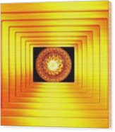 Luminous Energy 7 Wood Print