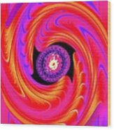 Luminous Energy 8 Wood Print by Will Borden