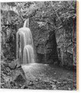 Lumsdale Falls Wood Print