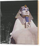 Luxor Sphynx Wood Print
