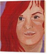 Lydia Wood Print