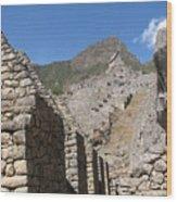 Macchu Picchu 9 Wood Print