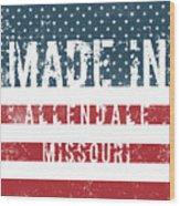 Made In Allendale, Missouri Wood Print