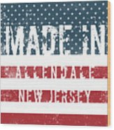 Made In Allendale, New Jersey Wood Print