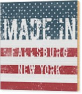 Made In Fallsburg, New York Wood Print