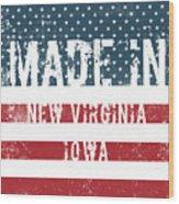 Made In New Virginia, Iowa Wood Print