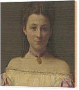 Mademoiselle De Fitz-james Wood Print
