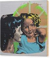 Madonna De Milo Wood Print