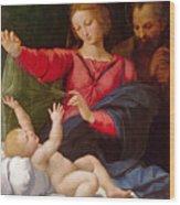 Madonna Of Loreto Wood Print