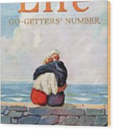 Magazine: Life, 1925 Wood Print