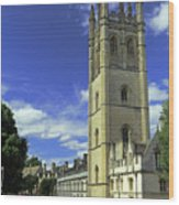 Magdalen Tower Wood Print