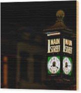 1 Main Street Wood Print