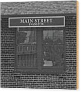 Main Street Station Wood Print by Michael Flood