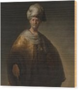 Man In Oriental Costume The Noble Slav Wood Print