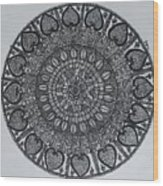 Mandal2 Wood Print