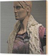 Mannequin. Wood Print