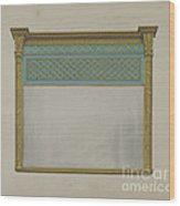 Mantel Looking Glass Wood Print