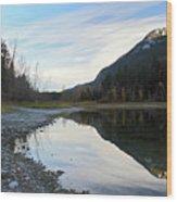 Marble Canyon British Columbia Wood Print
