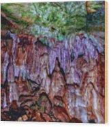 Marble Cave Crimea Wood Print