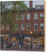 Market Square Wood Print