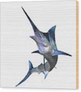 Marlin Wood Print