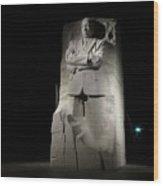 Martin Luther King, Jr. Memorial Wood Print