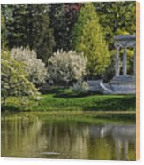 Mary Baker Eddy Memorial Wood Print