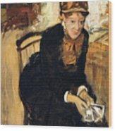 Mary Cassatt  Wood Print