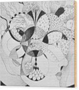 Masquerade Wood Print