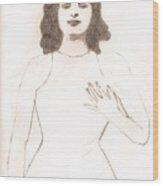 Mata Hari Mystique Wood Print