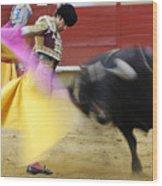 Matador Jose Tomas Iv Wood Print