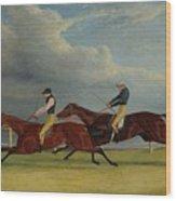 Matilda And Mameluke Wood Print