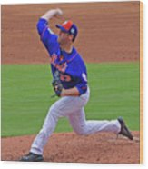 Matt Harvey Wood Print