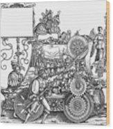 Maximilian I 1459-1519 Wood Print