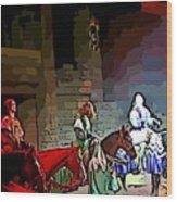 Medieval Times Dinner Theatre In Las Vegas Wood Print