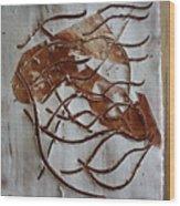 Mellow - Tile Wood Print