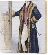 Mens Fashion, 1894 Wood Print
