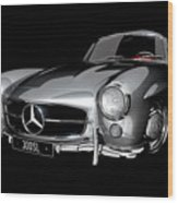 Mercedes-benz 300sl Wood Print