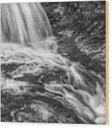 Merry Falls Wood Print