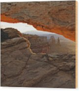 Mesa Arch Sunrise - D003097 Wood Print