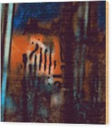 Message 3 Wood Print